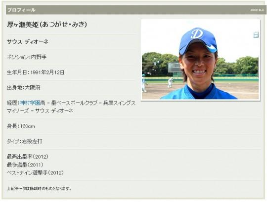 女子プロ野球-2